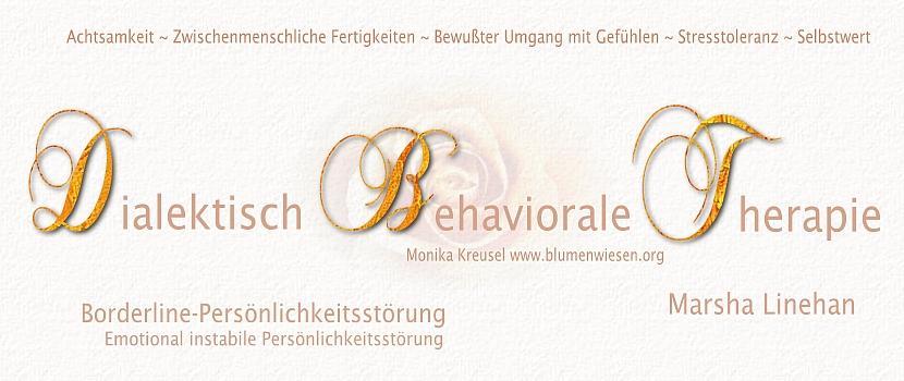 Dialektisch Behaviorale Therapie - Borderline-Persönlichkeitsstörung ...