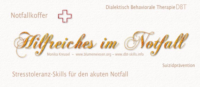 Der Notfallkoffer - Dialektisch Behaviorale Therapie ...